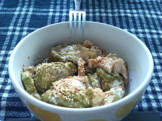 Salata sa piletinom i tikvicama