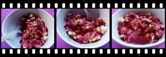 dezert od patispanja, voca i jogurta