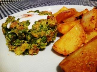 krompir i grasak iz rerne
